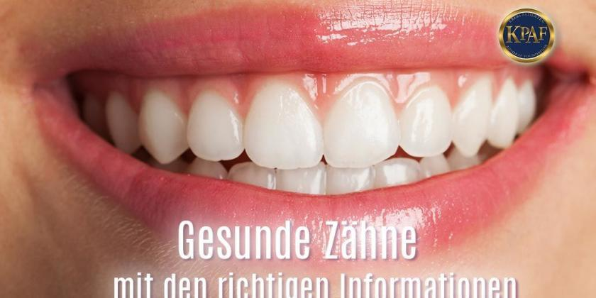 Gesunde Zähne - Information vs- Desinformation