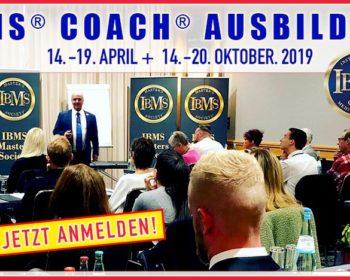 IBMS® Coach Ausbildung Dr. Coldwell