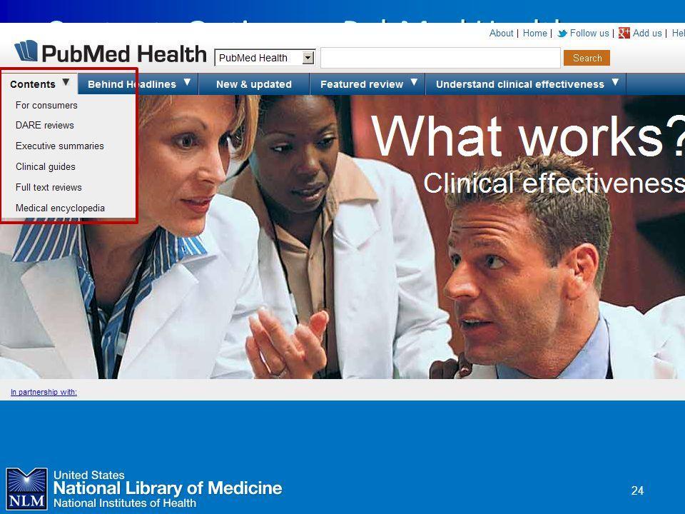PubMed Health verschwunden???