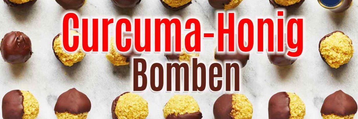 Curcuma Honig Bomben