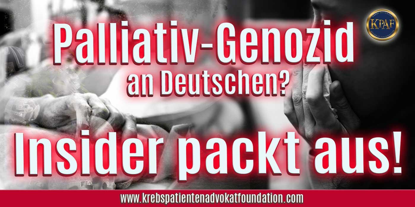 """🏴☠️ """"Palliativ-Genozid"""" in Deutschland? Brisante Hintergrundinformationen EXCLUSIV von IBMSMS™ und Dr. C"""