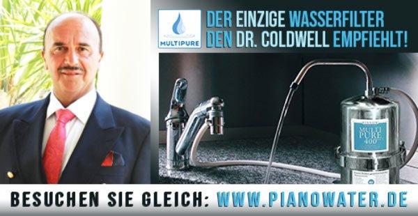 Der EINZIGE Wasserfilter den Dr. Coldwell empfiehlt