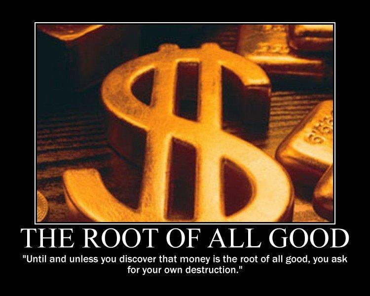 Man hat Euch in vollem Bewusstsein viel schlechtes über Geld beigebracht
