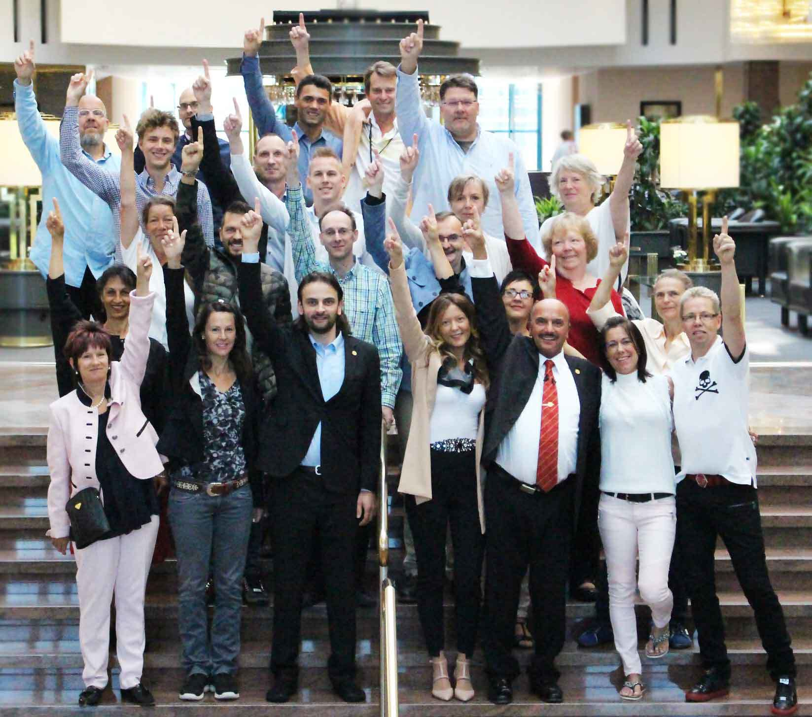 IBMS® CERTIFIED COACHES® Gruppe 2