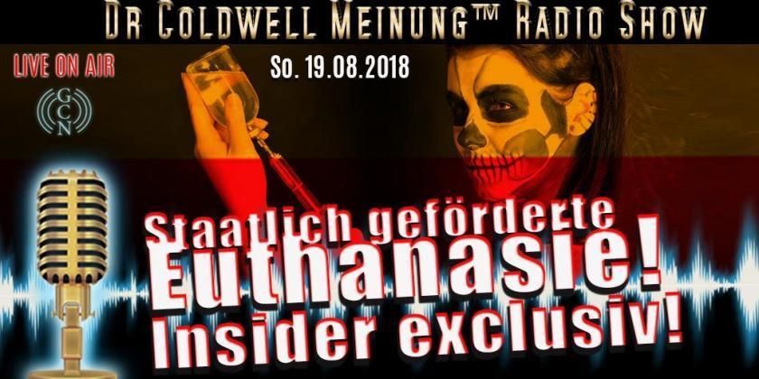 KPAF® Dr Coldwell TV Exklusiv: staatlich geförderte Euthanasie in Deutschland!