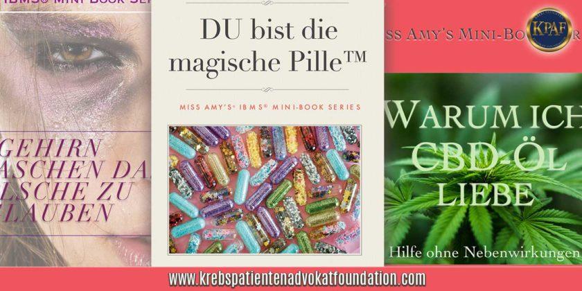 KPAF® MISS Amy`s® Mini Books www.krebspatientenadvokatfoundation.com